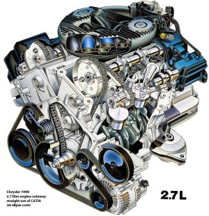 The Chrysler 27 Liter V6 Engines for 2000 Dodge Intrepid