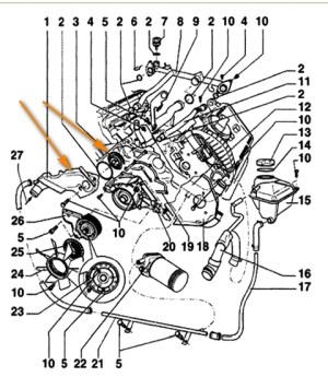2000 Vw Beetle Engine Diagram | Automotive Parts Diagram