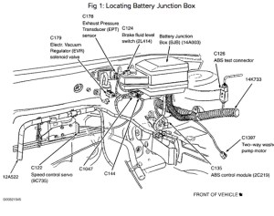 2007 Ford Focus Engine Diagram | Automotive Parts Diagram