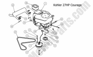 20 Hp Kohler Engine Diagram | Automotive Parts Diagram Images