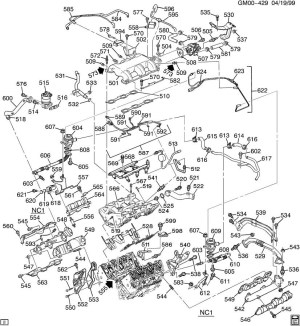 2003 Chevy Impala Engine Diagram | Automotive Parts