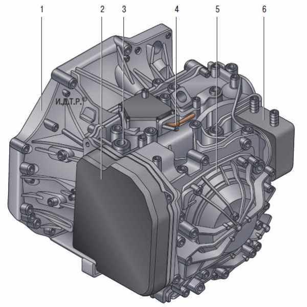 Коробка передач Пежо 308 (T7)