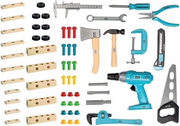 Inhalt Werkzeugkasten für Kinder Hazet