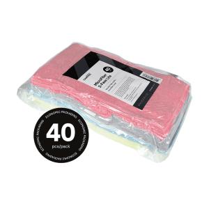 Mikrofasertücher von CarPro verpackt in einem Plastikbeutel