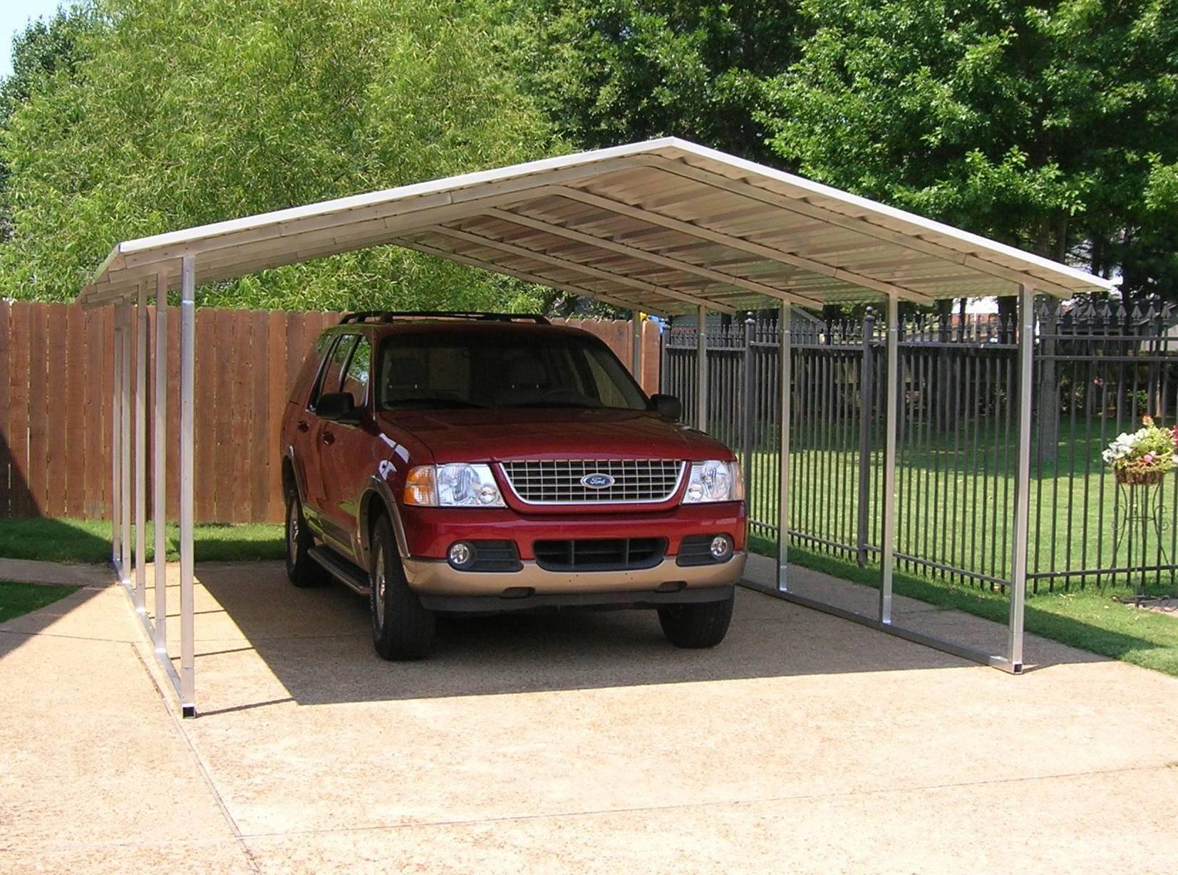 Steel Carport Kits Metal Carport Kits 595