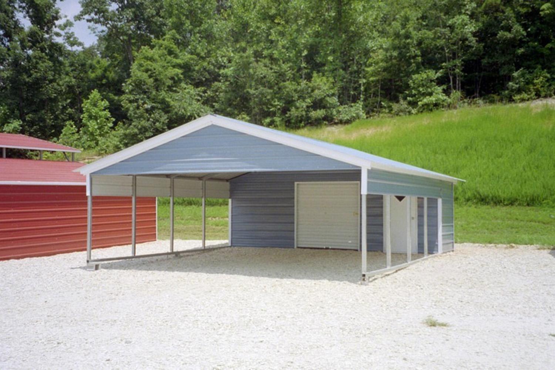 Steel Carport Kits / Metal Carport Kits $595
