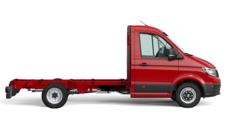 Carportil VW Crafter Chassis