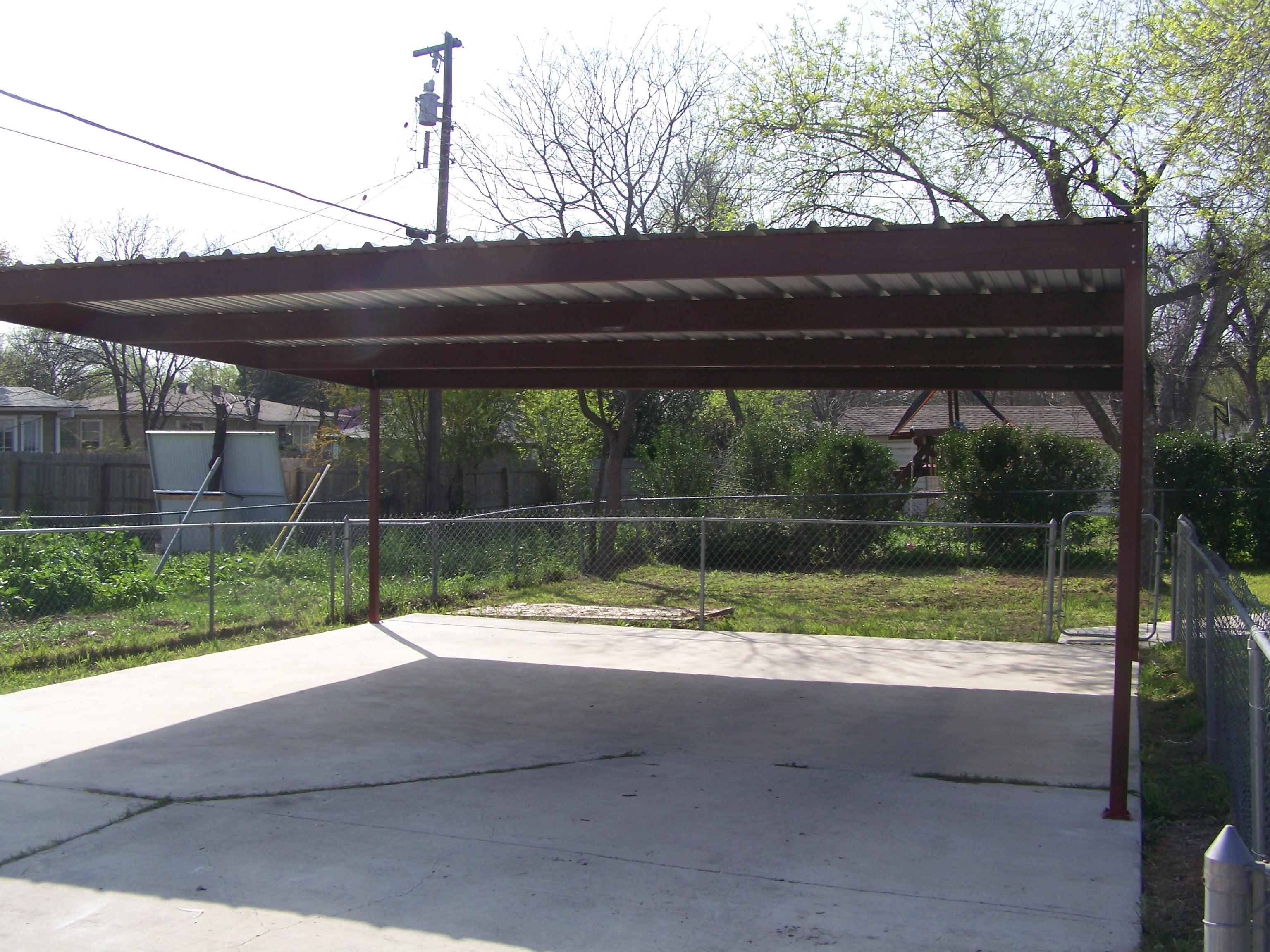 Metal Two Car Carport North Central San Antonio