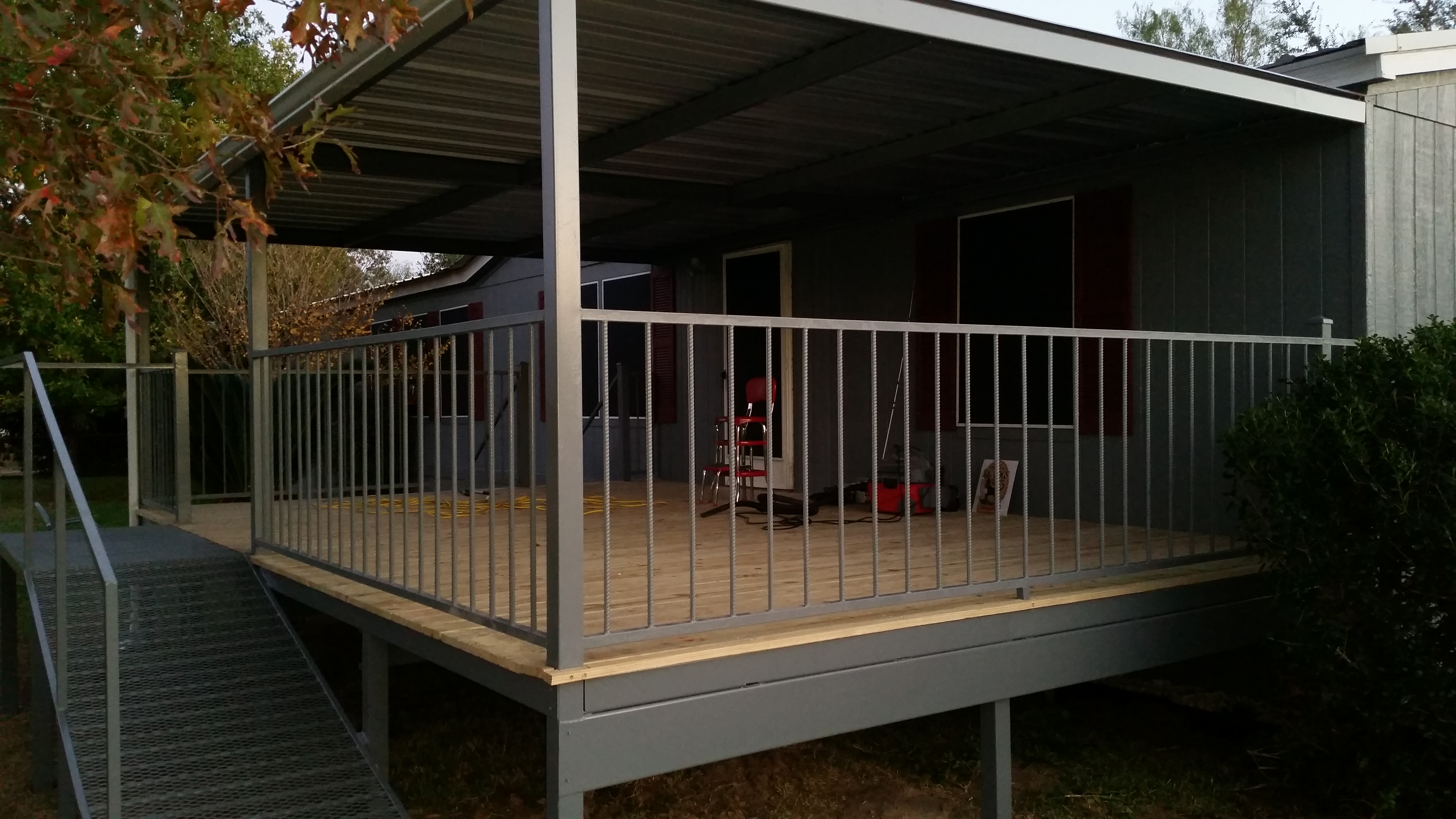 Lytle Texas 14x21 Patio Deck And Awning Carport Patio