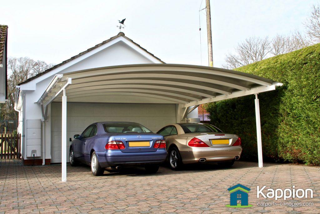 Double Carport Canopy Installed In Salisbury Kappion