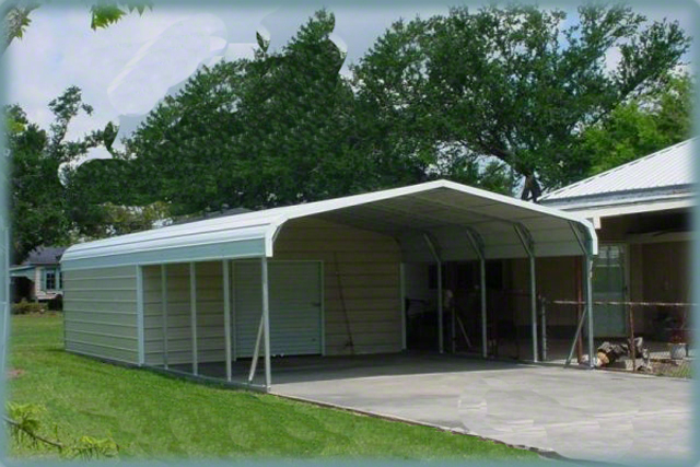 Steel Buildings Combination ideal for potting plants