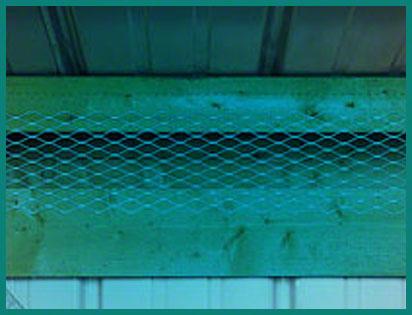 Steel Buildings Pest Control Netting