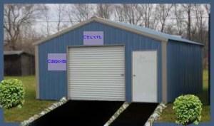 A-Frame Garages Steel Buildings A-Frame Style Garage