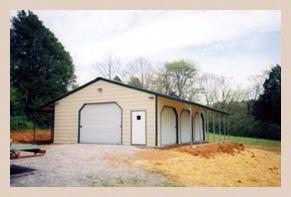 Steel Buildings Storage Garage