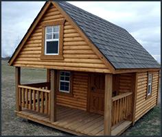 Custom Lofted Cabin
