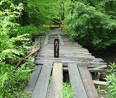 Image of a broken bridge
