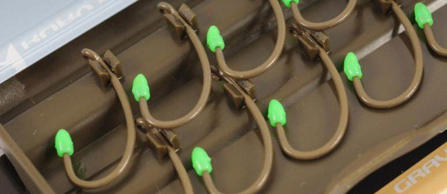 Korda hooks come very nicely presented and are very easy to use.