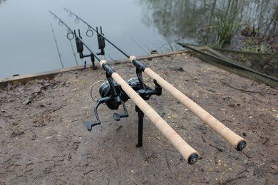 carp fishing setup