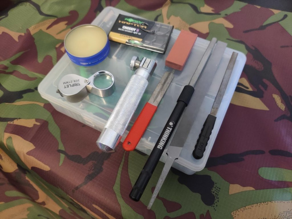 Hook Sharpening Tools