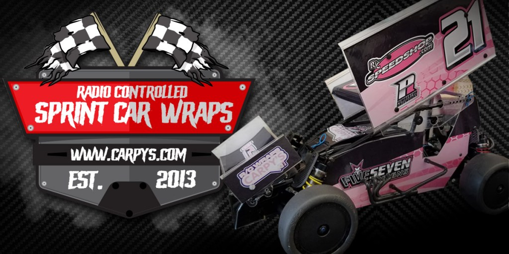 Custom R/C Dirt Oval Wraps & Graphics