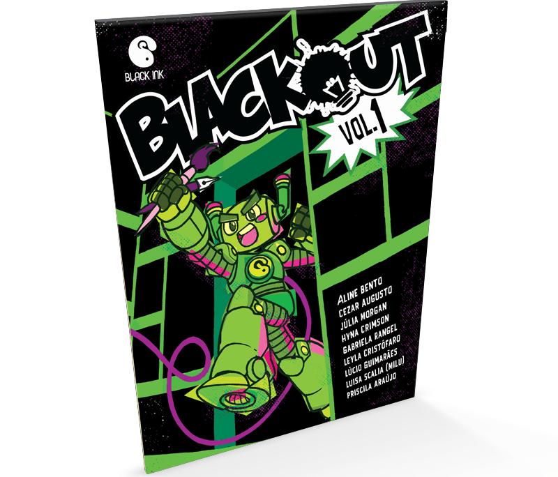Blackout - Estúdio Black Ink com Lúcio Guimarães e Hyna Crimson