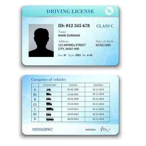 Driving license exchange