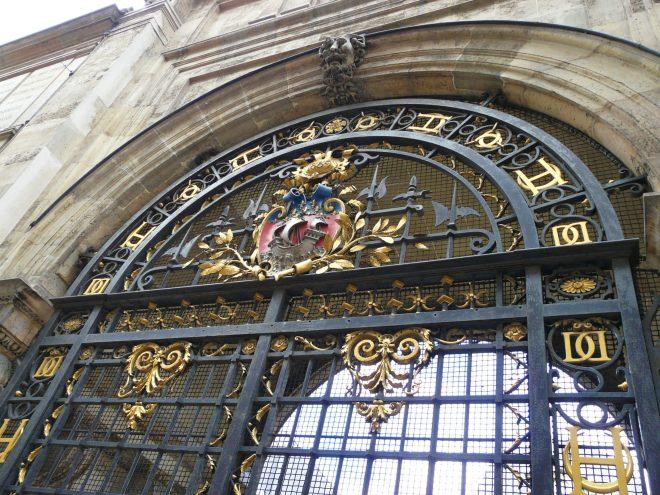 Gate at the Musée Carnavalet, Le Marais, Paris
