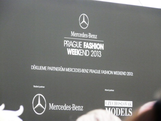 Mercedes Benz Prague Fashion WeekEnd 2013