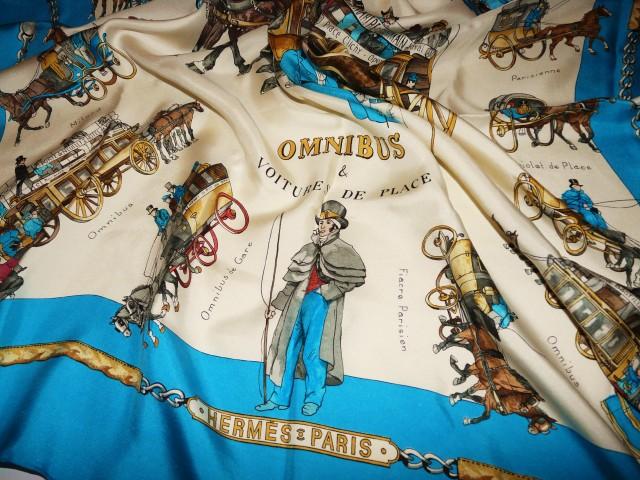 Omnibus et Voitures HERMES Rare