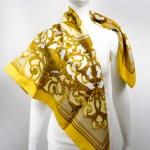 les-tuileries-hermes-scarf-gold