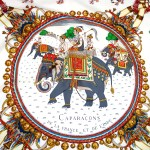 Caparacons de la France et de l'Inde