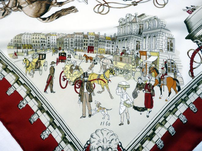 Pont Neuf Hermes Scarf Detail 2