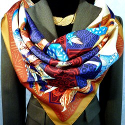 Les Ballets Russes HERMES Unworn comes with Scarf Box