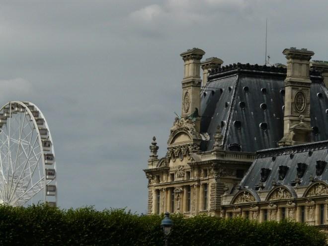Ferris Wheel in Les Tuileries Park, Paris