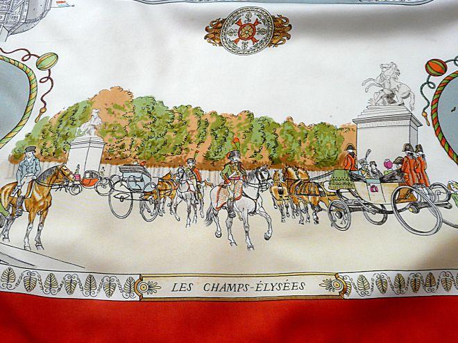 Promenades de Paris Les Champs-Elysees HERMES
