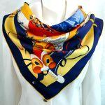 Carnaval de Venise HERMES Jacquard Silk Scarf