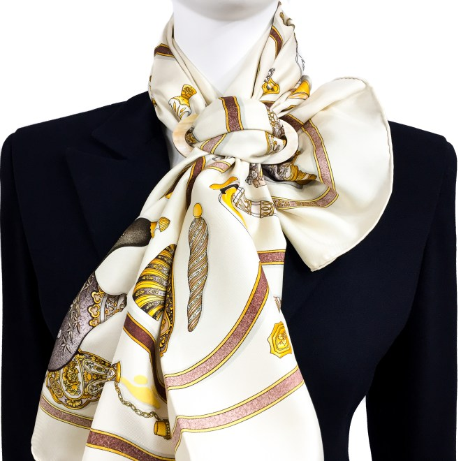 GRAND LUXE HORN SCARF RING OR PENDANT $ 39.50