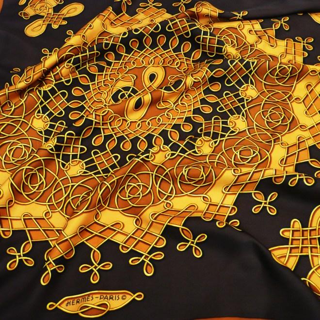 Vinci HERMES Rare Silk Scarf