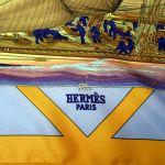 Rafales HERMES Paris Silk Scarf