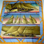 Rafales HERMES Silk Scarf 36 inch square