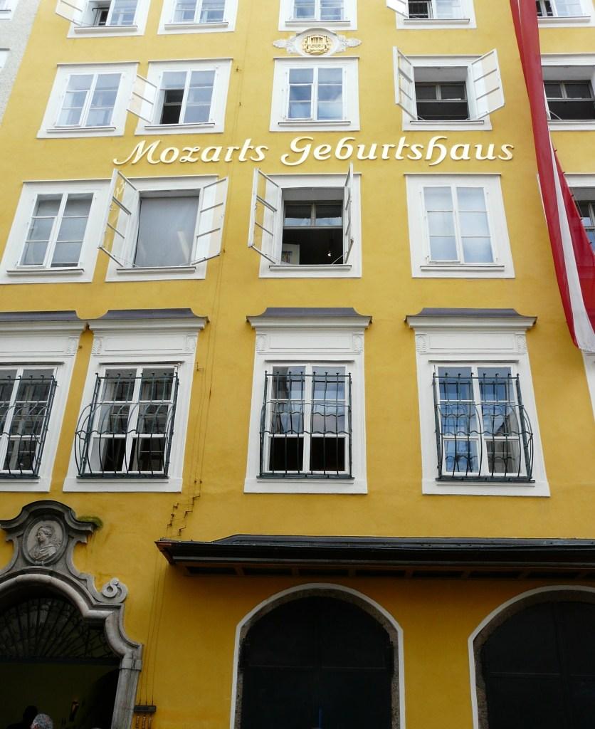 Mozarts Geburtshaus, Salzburg