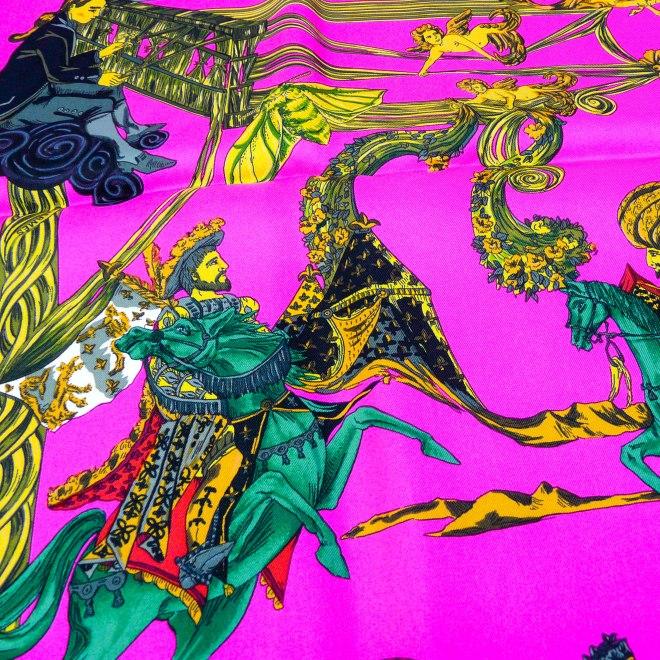 Au fil de la Soie 1995 Annie Faivre Detail