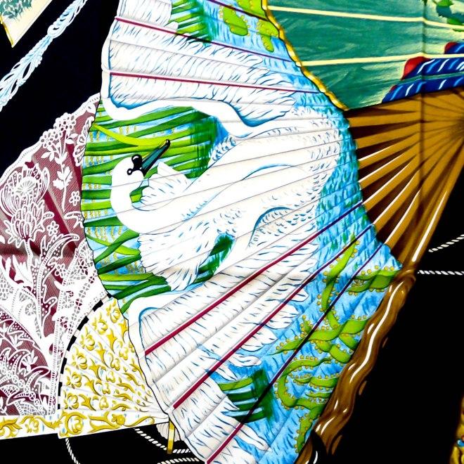 Brise de Charm HERMES Silk Scarf pristine condition