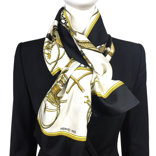 Les Voitures a Transformation HERMES Silk Opera Scarf RARE-5