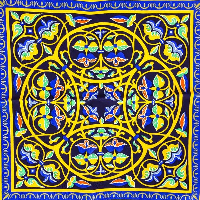 Ciels Byzantins Hermes Silk Jacquard Scarf_-4