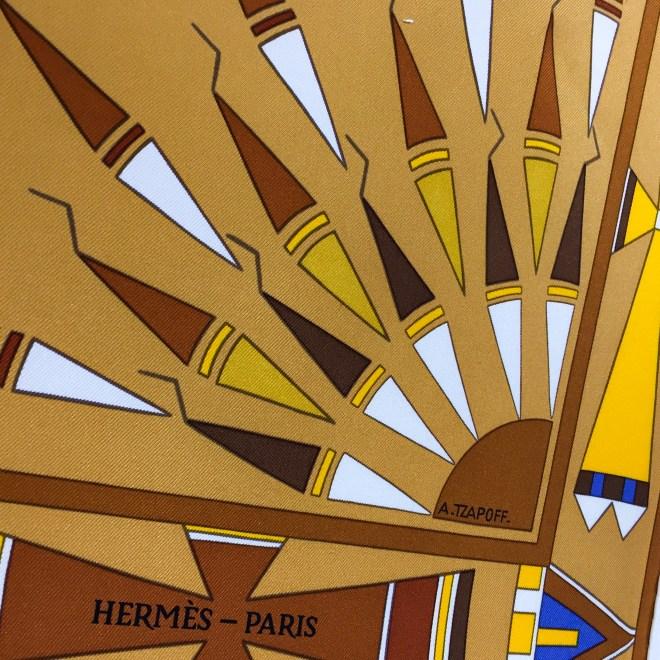 Hermes Silk Scarf Apparat des Plaines-11