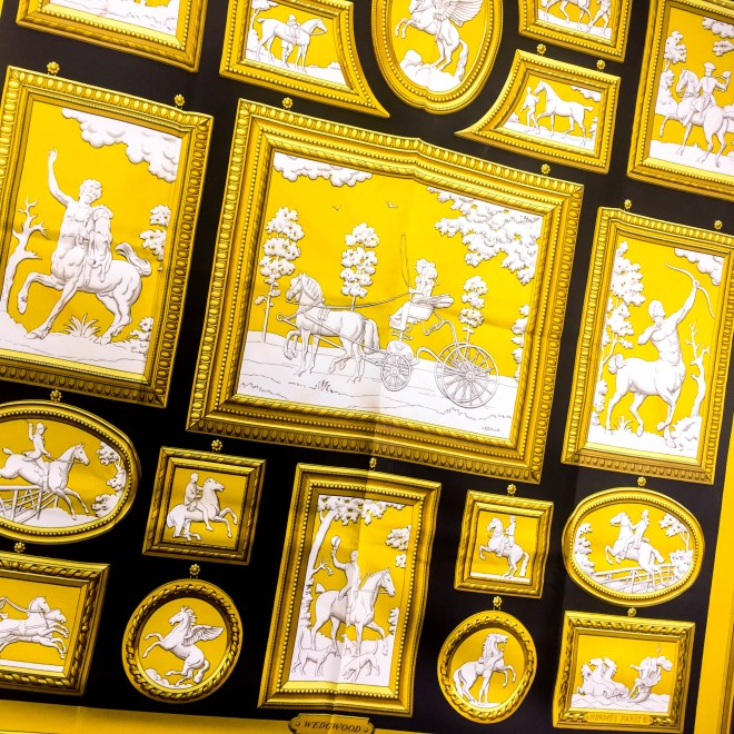 Wedgwood HERMES Silk Scarf Vintage Black-2.jpg