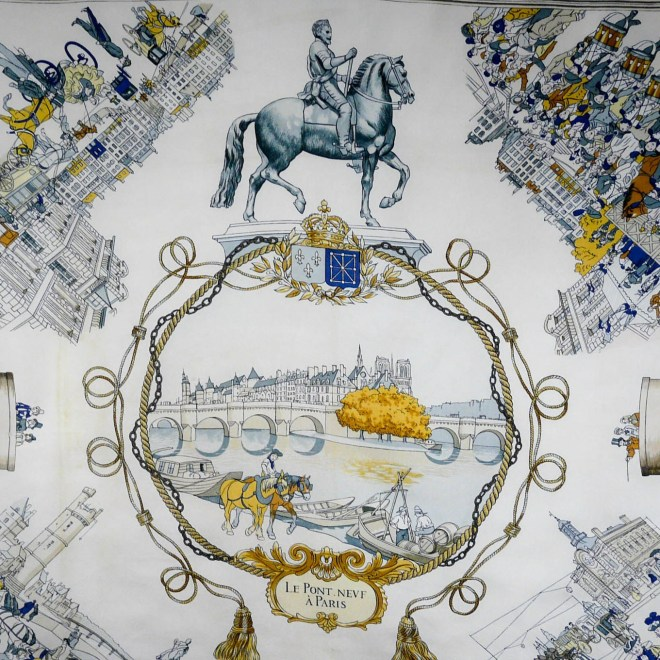 Le Pont Neuf a HERMES Scarf GRAIL coming soon