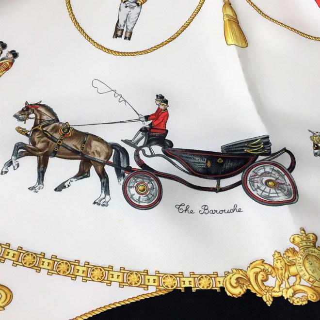 Hermes Silk Scarf The Royal Mews - Buckingham Palace RARE (16)