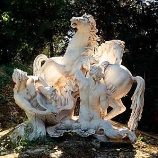 Chevaux du Soleil Statue at Versailles